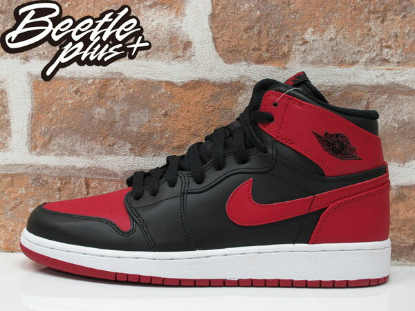 BEETLE PLUS NIKE AIR JORDAN 1 RETRO HIGH OG BG GS 黑紅 紅牛 大魔王 櫻木花道 女鞋 575441-023 0