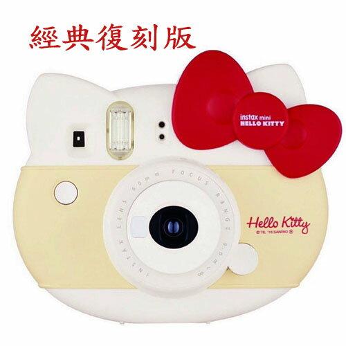 【自拍哥倆好組】Fuji MINI HELLO KITTY  40周年 大頭拍立得 禮盒 + FOTOPRO QP-920藍芽按鈕自拍棒