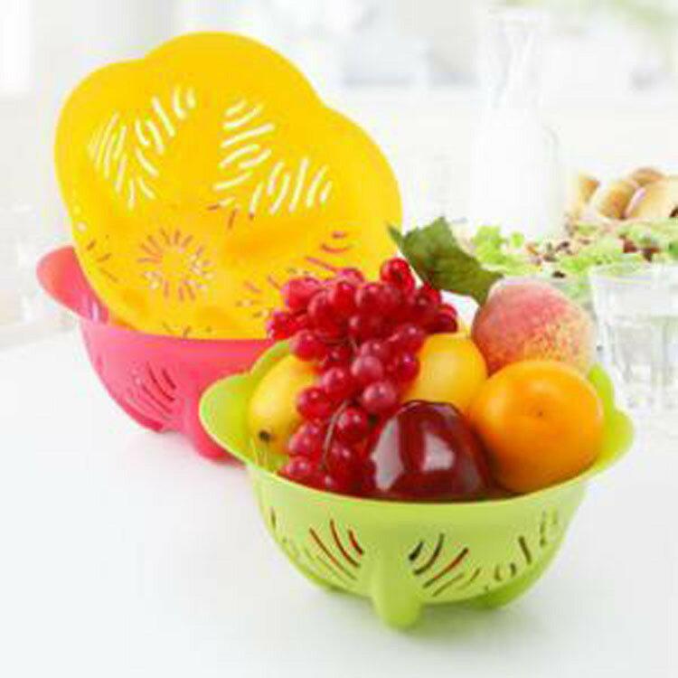 【省錢博士】時尚創意碗形水果籃 / 蔬菜盤 / 洗菜籃