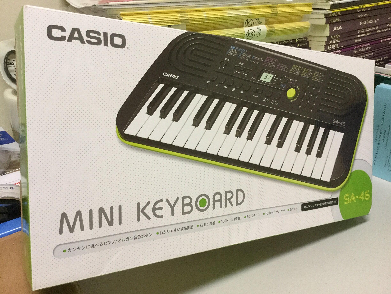 【音樂相關商品】卡西歐32鍵迷你電子琴SA-46