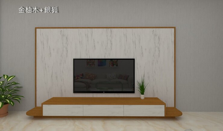 HL2001(8尺) 電視牆組/電視櫃/層架/吊櫃/屏風/牆面展示
