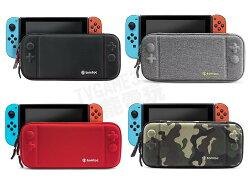(超取免運) 任天堂 Switch NS 美國 Tomtoc 主機包 收納包 硬殼包 薄型 黑 灰 紅 迷彩 配件收納袋