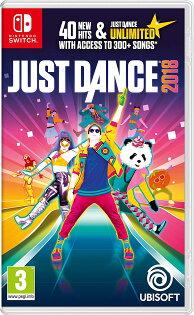 NS舞力全開2018-英文亞版-JustDance2018SwitchMario
