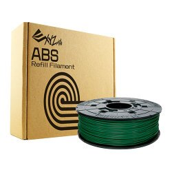 XYZprinting ABS塑料3D列印線材匣600g墨綠【愛買】