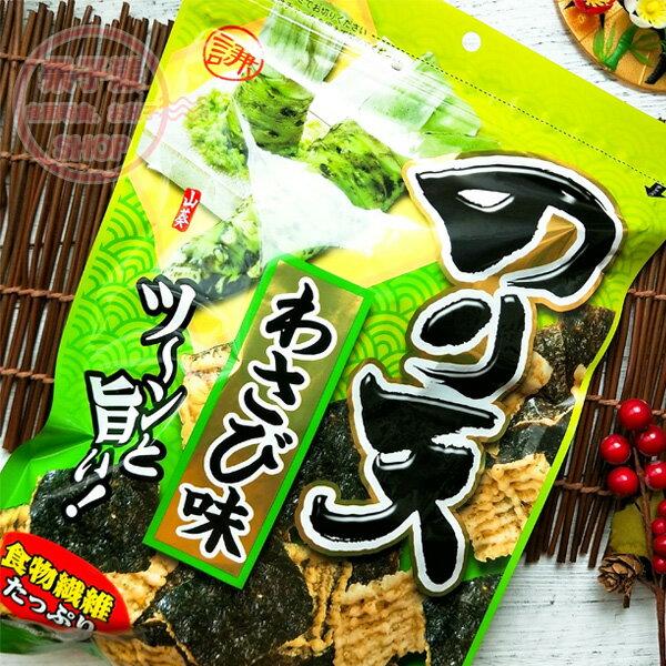 日本 海苔天 芥末味 天婦羅海苔餅乾 (150g) [JP637]