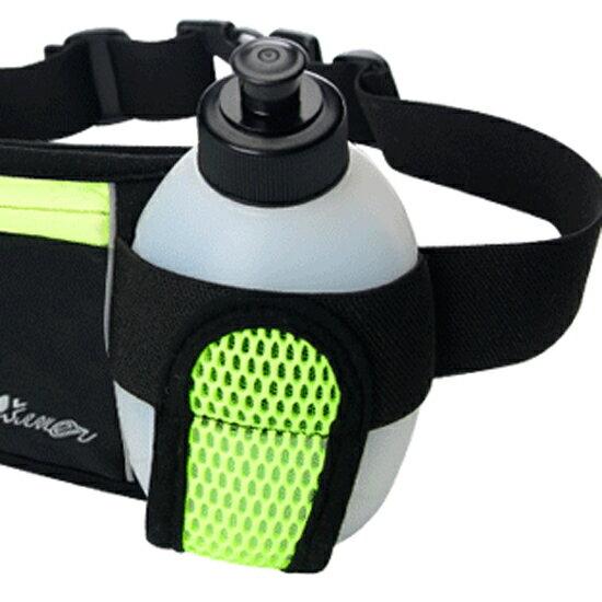 ?MY COLOR?運動包包專屬水壺 休閒 多功能 腰包 輕便 跑步 防水 健身 戶外【M86-1】