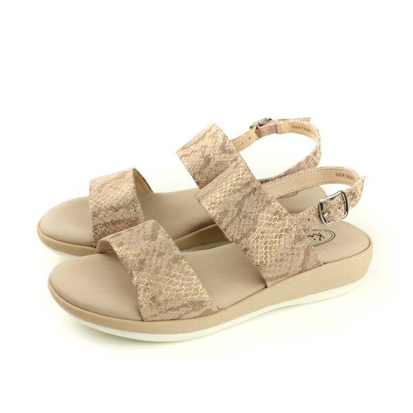 Kimo涼鞋女鞋橘金色D5418SF010025no799