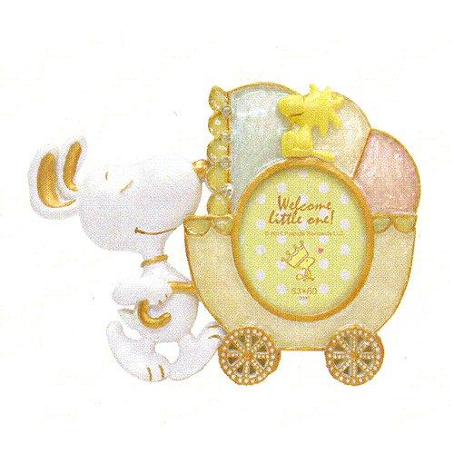 史努比相框嬰兒紀念擺飾推車款318679代購