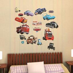 迪士尼授權 汽車總動員創意壁貼 GID006