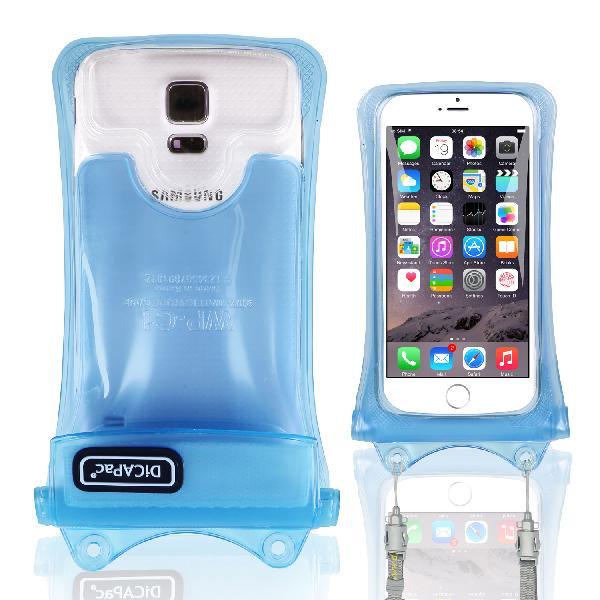 DiCAPac WP-C1(有現貨) 高耐磨手機防水袋(5.1吋以下)-藍色