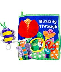 美國Manhattan Toy軟布書-蜜蜂嗡嗡#7612★衛立兒生活館★