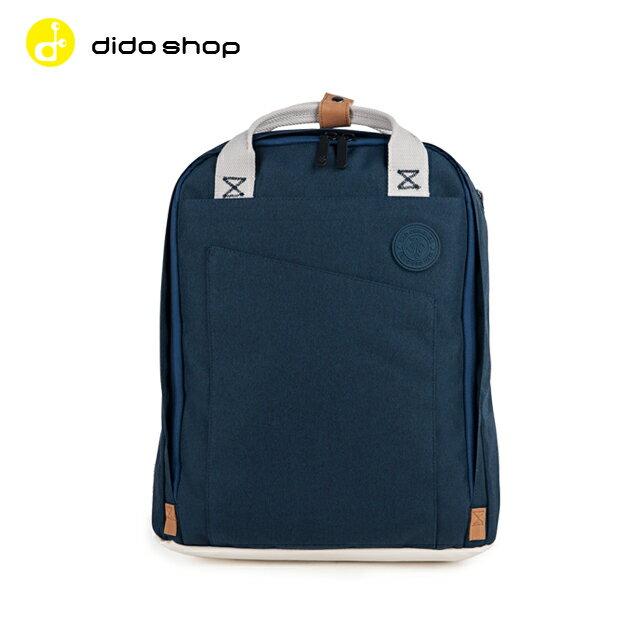 NG品出清★WXD 韓版休閒手提後背兩用包 筆電包 電腦包 後背包 深藍色