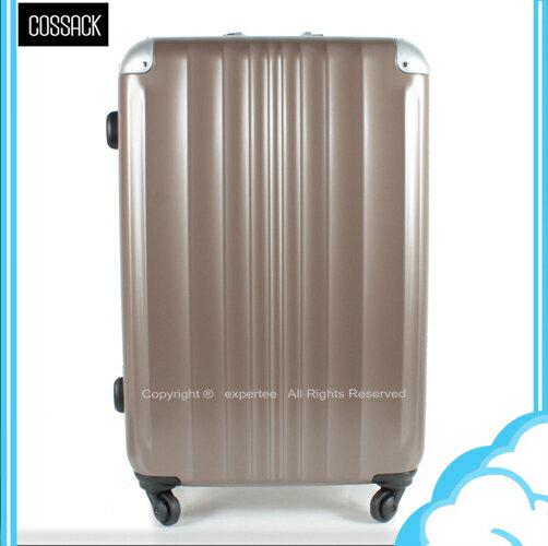 【騷包館】COSSACK 29吋 王者系列 日本HINOMOTO靜音輪鋁框霧面旅行箱 爵啡 CS11-2063029-08
