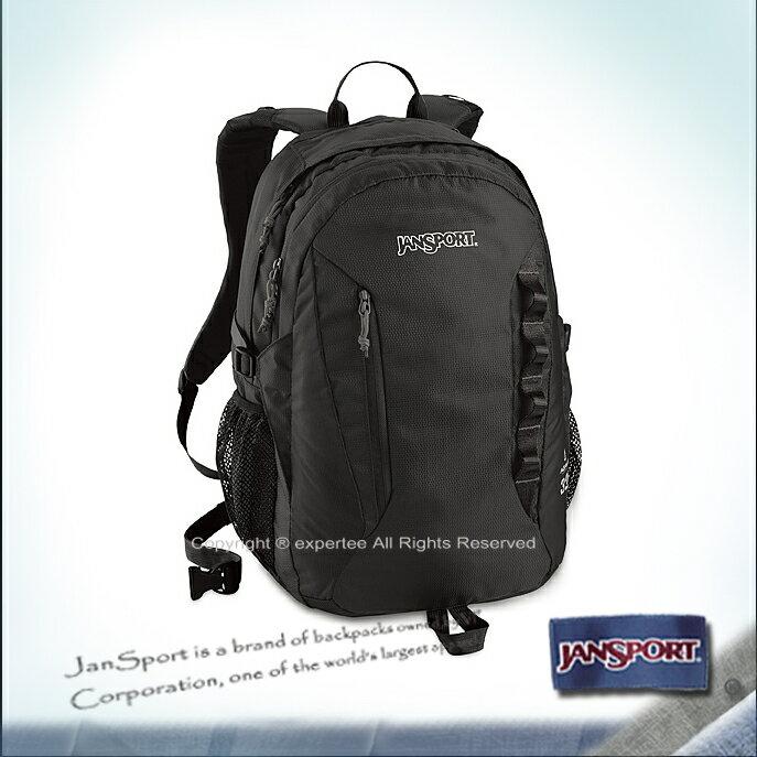 請詢問庫存【騷包館】JANSPORT專櫃 AGAVE 多夾層電腦後背包 黑色 JS-43039J008