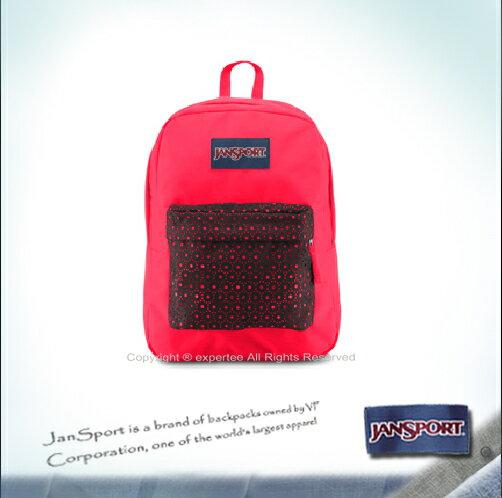 【騷包館】JANSPORT美國專櫃品牌 棉質帆布款後背包 黑色蕾絲 JS-43117J03W