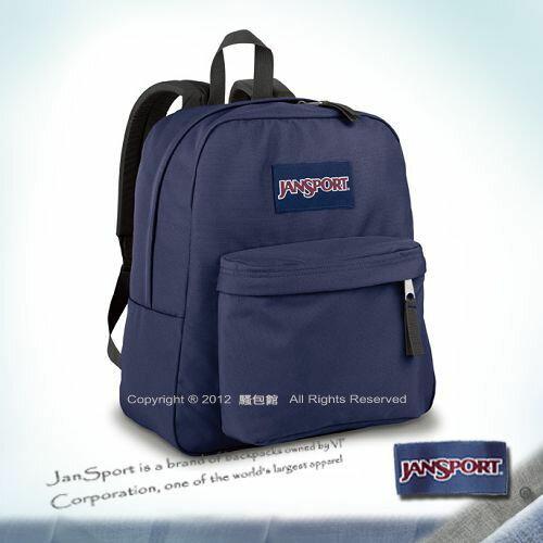 預訂【騷包館】JANSPORT專櫃 小版輕型校園後背包 深藍JS-43911J003