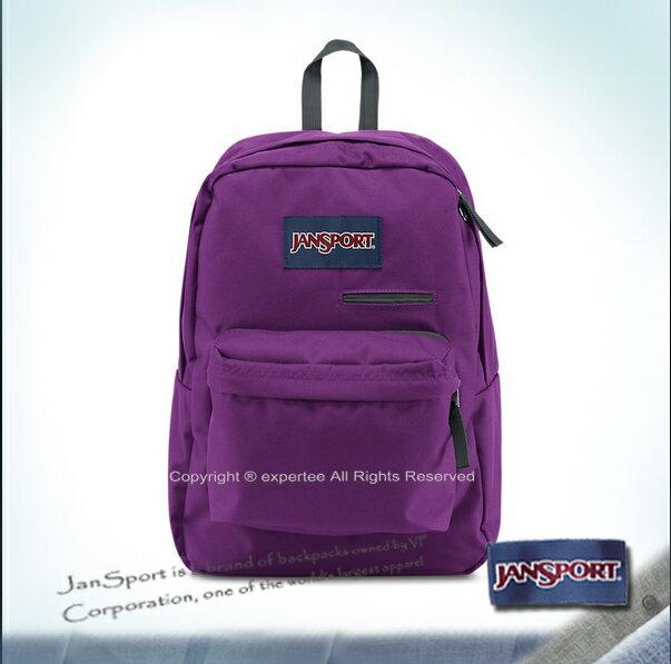 請先詢問庫存【騷包館】JANSPORT 專櫃 撞色款3C手機平板多功能後背包 活潑紫 JS-41550J2C8