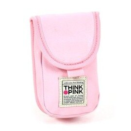 THINK PINK 義大利品牌☆潮流型男專櫃品牌 手機掛抅包(墨綠色)