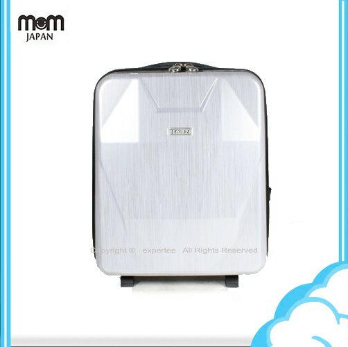 【騷包館】LEMUR台灣製造 晶鑽外型防雨可爬樓梯 附水壺兒童拉桿書包 髮絲白銀LM28-L20