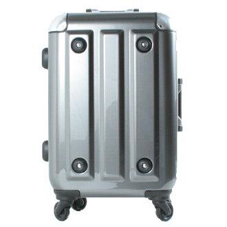 【騷包館】MOM JAPAN 日本品牌 24吋 新改版便利密碼鎖 輕量護角鋁框鏡面海關鎖旅行箱 方塊黑 MF3008-24-BK