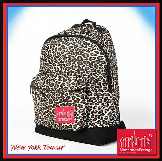 預訂【騷包館】曼哈頓 紐約品牌 光感豹紋 後背包 MP1209-WD-BI Manhattan Portage