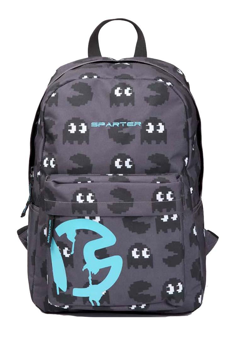 請詢問庫存【騷包館】【SPARTER】挪威品牌 Pac-Man小精靈系列 個性輕型電腦後背包 藍色小精靈 SP-9811GY