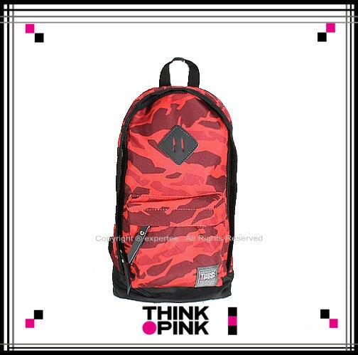 【騷包館】THINK PINK 潮流專櫃品牌 幻彩系列 新改版單雙肩背包 紅色幻彩 TP-115-7602-108
