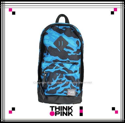 【騷包館】THINK PINK 潮流專櫃品牌 幻彩系列 新改版單雙肩背包 藍色幻彩 TP-115-7602-018