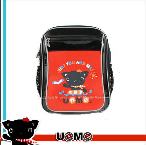 【騷包館】UnMe 日系品牌 台灣製造 人體工學 海洋季亮面兒童書包 紅 3201-RD