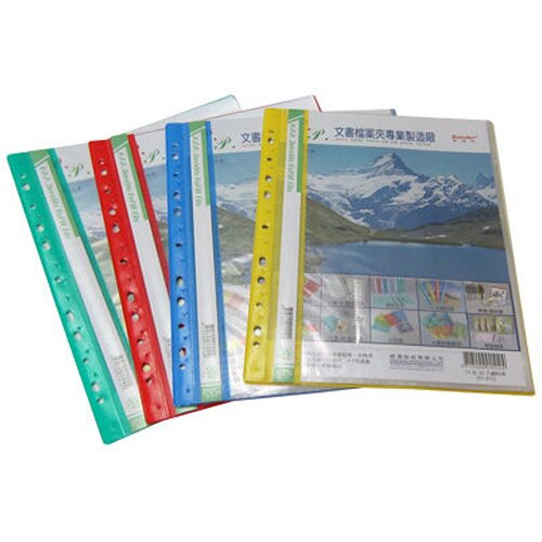 【Sander 新德牌】01-512  PP11孔名片袋資料簿/資料本(20頁)