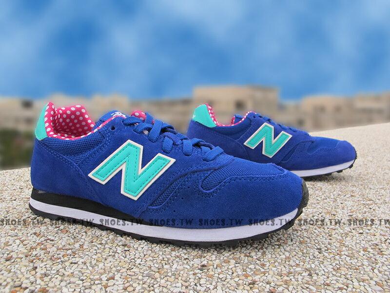 [25cm]《超值1380》Shoestw【WL373BGP】NEW BALANCE 373 復古慢跑鞋 藍蒂芬妮綠 點點 麂皮 女生