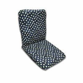 【台客嚴選】日系招財兔高背舒適和室椅(藍色)