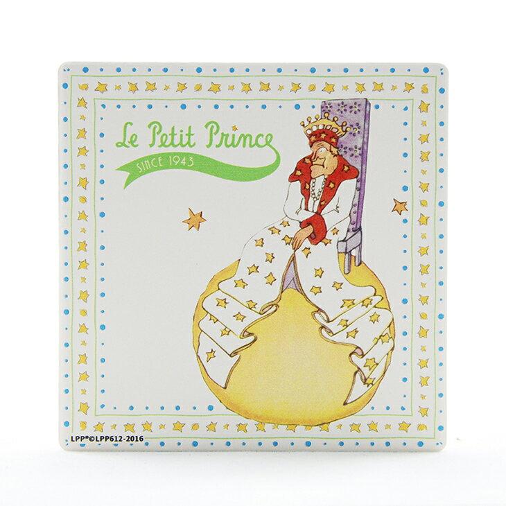 小王子 系列 ~ 吸水杯墊:~孤獨的國王 ~   圓   方