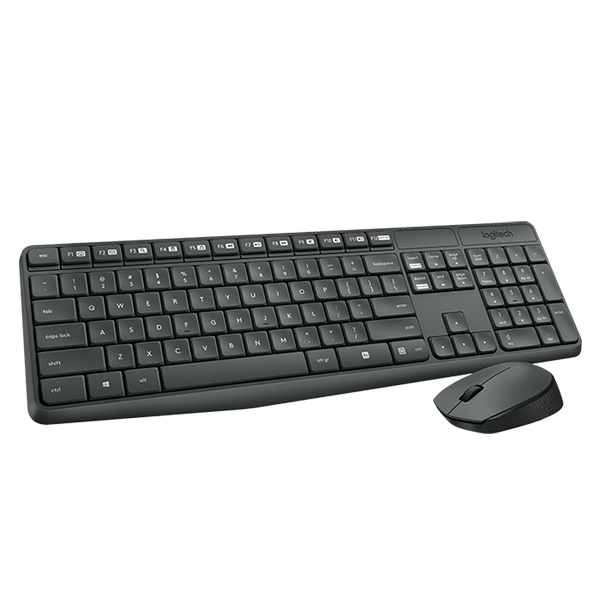 Logitech 羅技 MK235 無線滑鼠鍵盤組 繁體中文版 1