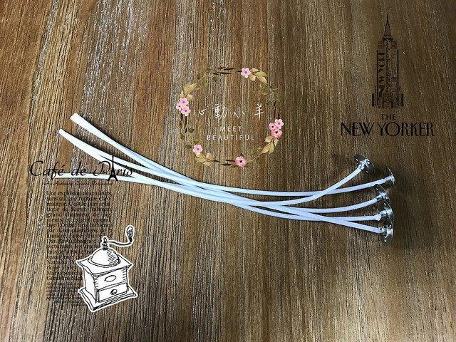 蠟燭芯 酥油燈芯純棉無菸環保DIY(10公分,10入)