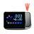 氣象投影時鐘 LCD彩屏背光溫度濕度計貪睡鬧鐘 天氣舒適度時間顯示器180度旋轉投影電子鐘【ZG0109】《約翰家庭百貨 1