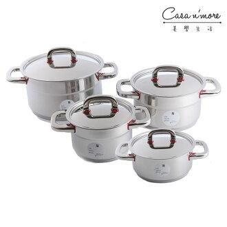 WMF Premium one 鍋組 不鏽鋼湯鍋 4件鍋組 燉鍋 帝王鍋 德國製