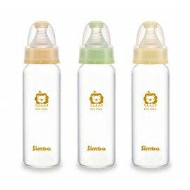 【Simba小獅王辛巴】超輕鑽標準玻璃大奶瓶 240ml【飛炫寶寶】