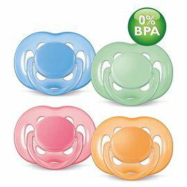 【顏色隨機出貨】PhilipsAvent新安怡-粉彩系列安撫奶嘴-較大型6~18m+(2入)221元