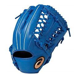 ASICS 亞瑟士 軟式棒球手套 NEOREVIVE(內外野手兼用) BGR7MU-400藍 左手用 [陽光樂活=]