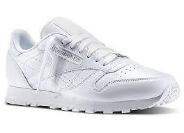 REEBOK CLASSIC LEATHER 白 大童鞋 女鞋 US 4~6 J90139 J倉