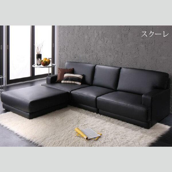 天空樹生活館:日系極簡風貼地沙發(四件組)【天空樹生活館】