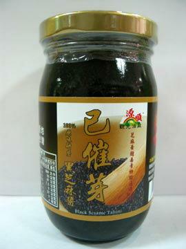 源順~已催芽黑芝麻醬260公克/罐