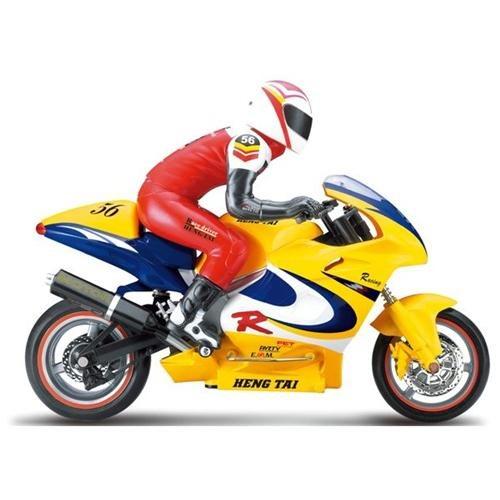 Microgear - Remote Controll RC Motorcycle Scale 1:6 Ktai 56 Carbon Body NIB Yellow ea6911465d9eb0a68b92f9eaf3401164