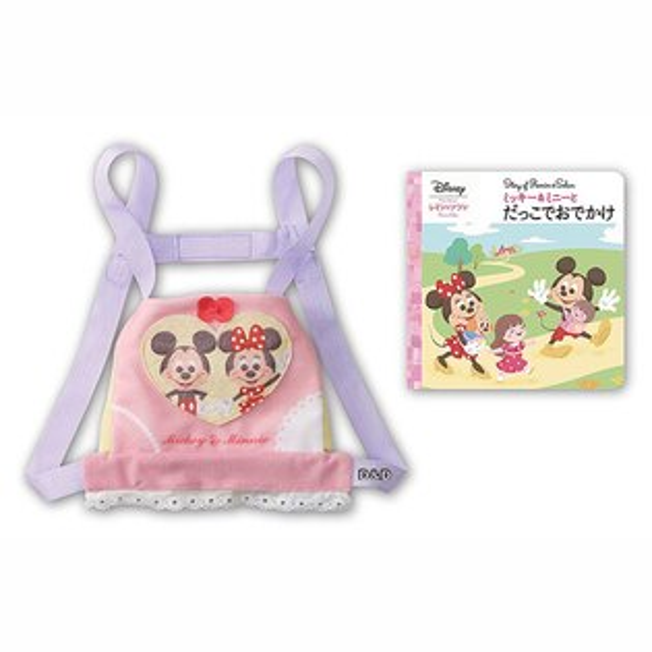 《Disney迪士尼》知育娃娃系列-米奇米妮造型背帶