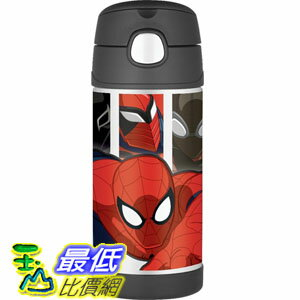 [103美國直購] Thermos 兒童保溫水壺 Funtainer Bottle, Spiderman F4015SP6 蜘蛛人 TB4