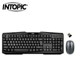 INTOPIC 廣鼎 無線鍵盤滑鼠組 KCW-930【加贈軟水壺】【三井3C】