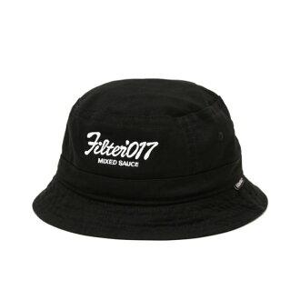 ►法西歐 桃園◄Filter017 Bucket Hat Vintage Logo 復古 字體 黑 漁夫帽 另有丹寧款