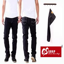 CS衣舖 台灣製造 精品質感 高品質拉鍊 造型牛仔褲 7305