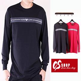 CS衣舖 質感萊卡 彈性布料 長袖T恤 8656